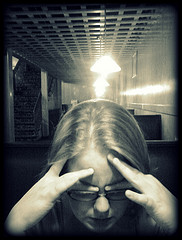 Becky wetherington gestresste frau