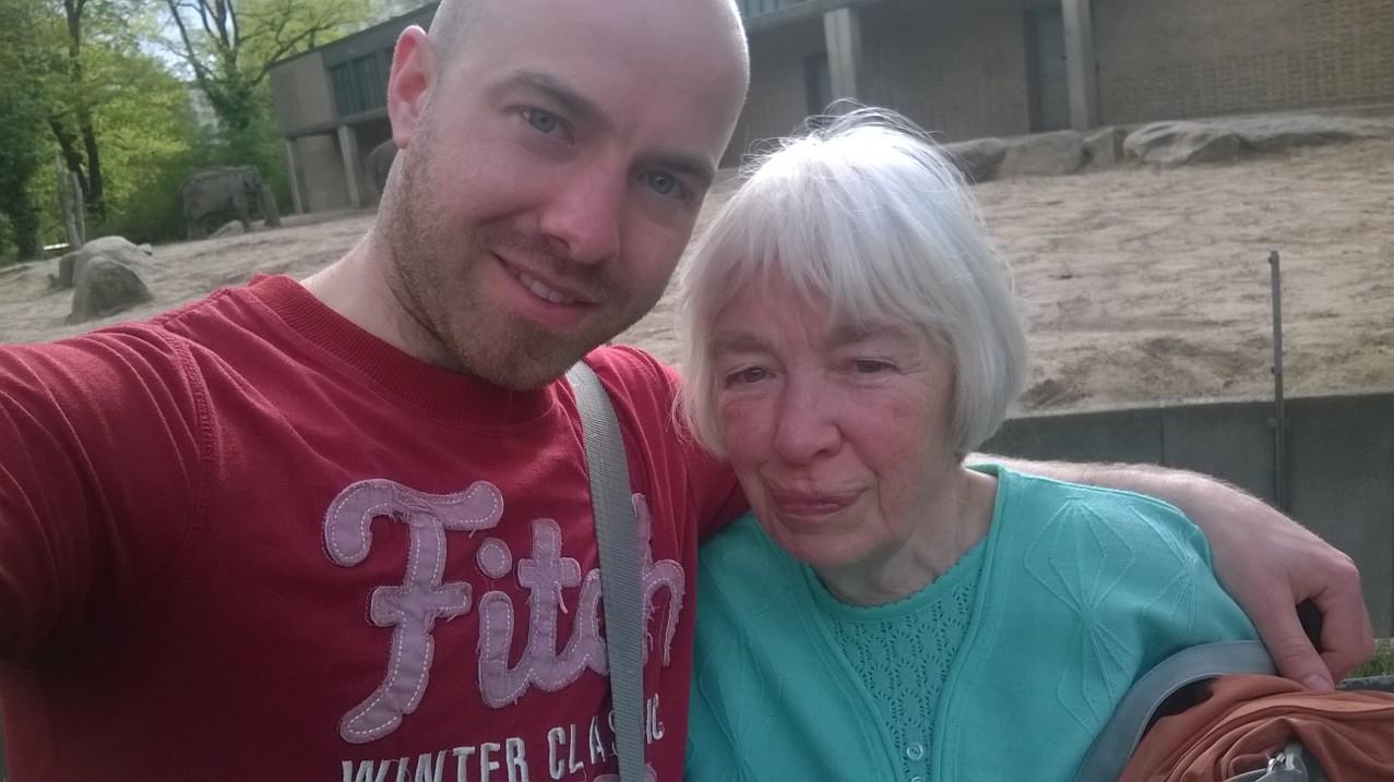 Ich und Oma