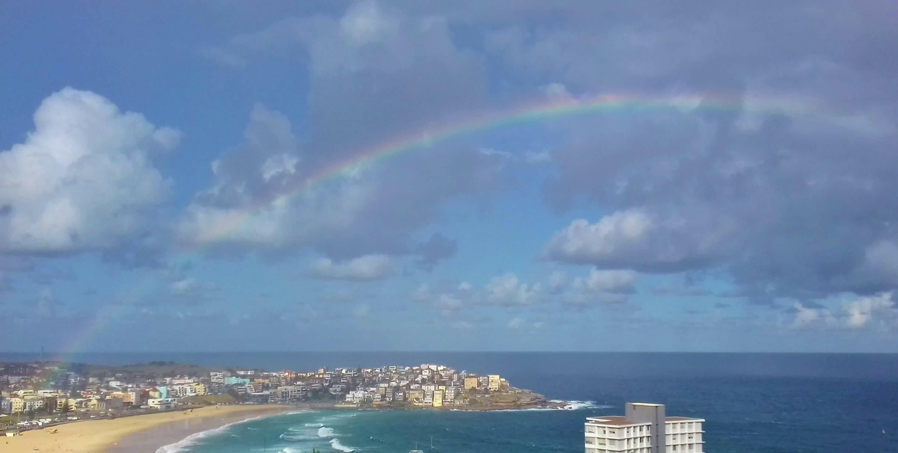 Der Schatz des Regenbogens. Gedanken zu unserer Welt der Wunder